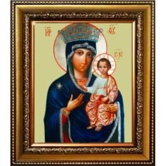 Милосердная Юровичская икона Божьей Матери на холсте