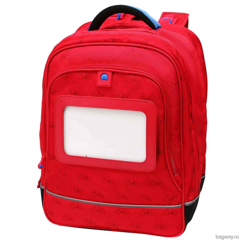 a950d17fd7f6 Красный рюкзак Delsey Back to school | Школьные рюкзаки | Подарки.ру