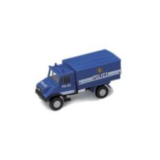 Машинка Welly Полицейский грузовик с кузовом