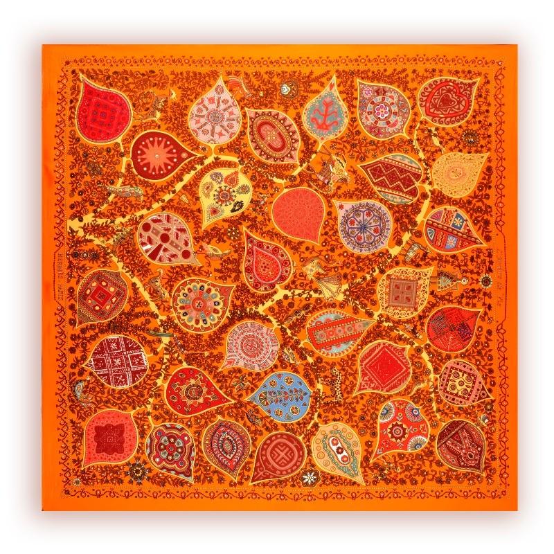 Платок шелковый 2012-09003