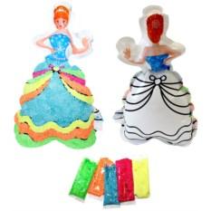 Надувная раскраска «Принцесса Лея»