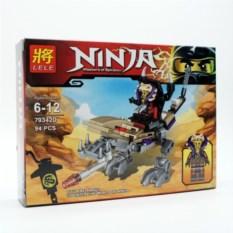 Конструктор Lele Ninja, 94 детали
