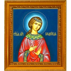 Надежда Римская Святая мученица. Икона на холсте.