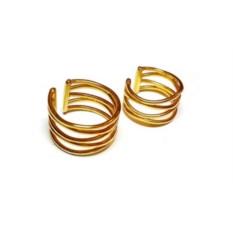 Кольца на фаланги Паутинки (золото, 585 проба)
