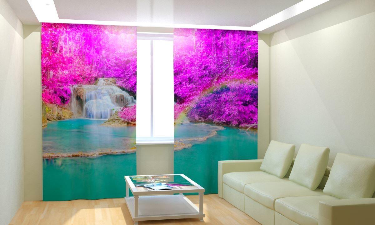 Фотошторы Радужный водопад