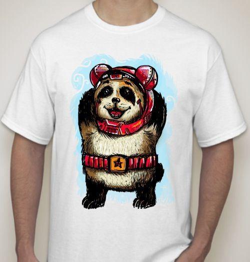 Футболка Панда с поясом