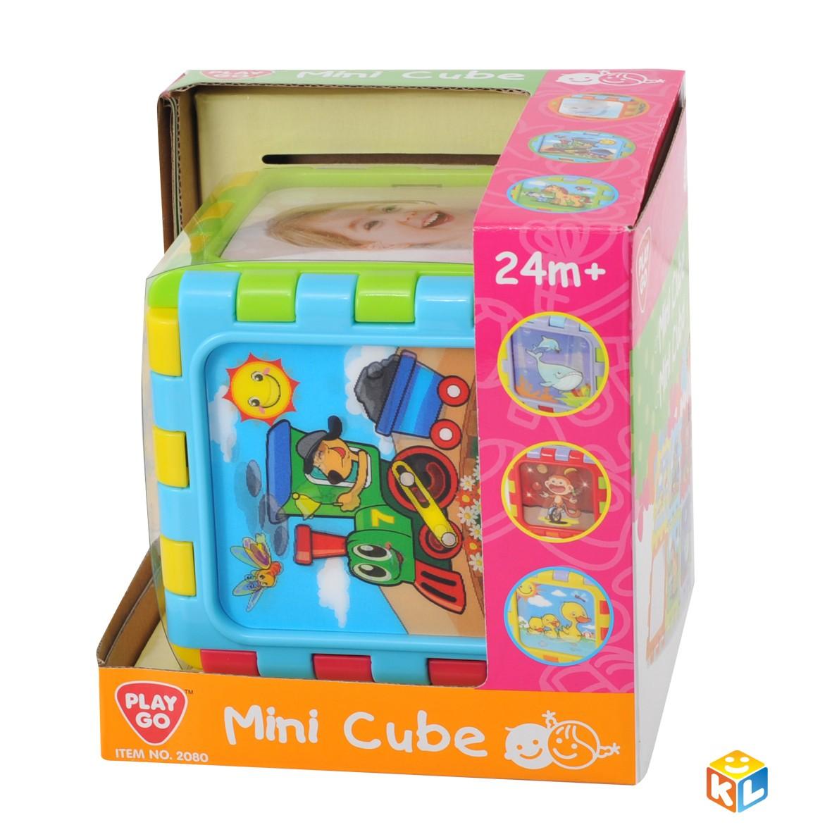 Развивающий разборный мини куб Playgo