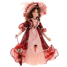 Фарфоровая кукла Валерия