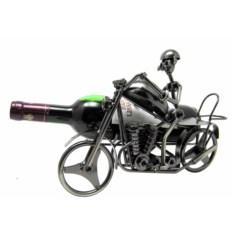 Подставка под бутылку Мотоциклист
