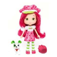 Игрушка Шарлотта Земляничка Кукла Земляничка с питомцем