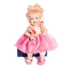 Коллекционная фарфоровая кукла Забава