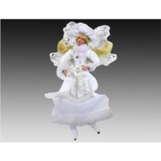 Украшение-подвеска Мечтательная фея в белоснежном наряде