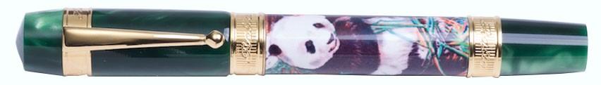 Зеленая перьевая ручка Ancora Panda Green Панда