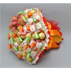 Букет из конфет Осенний урожай