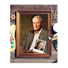 Портрет по фото Мужчина с книгой