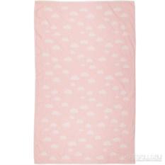 Розовый детский плед Cloud 130х170 см