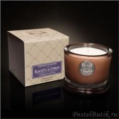 Ароматическая свеча малая Black Fig&Cypress от Aquiesse