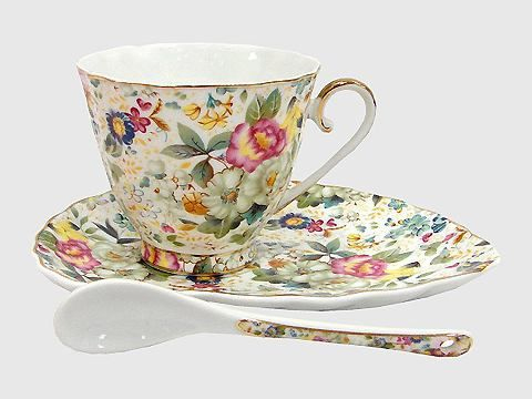 Чайная пара фарфор: Летний сад
