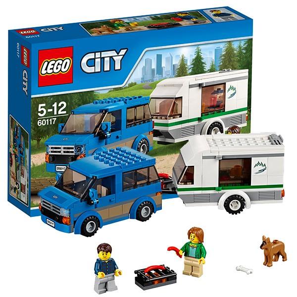 Конструктор Lego City Фургон и дом на колёсах