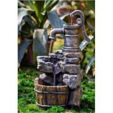 Декоративный фонтан для дачи Колонка