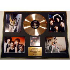 Золотой виниловый диск Queen