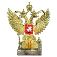 Скульптура Герб России ( цвет - золото)