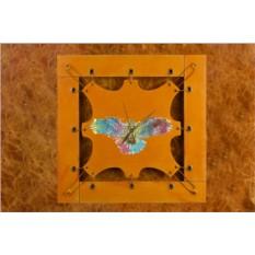 Часы из кожи Разноцветный орел