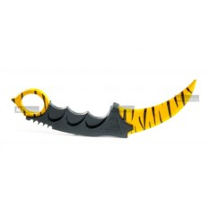 Нож-керамбит из дерева Зуб тигра