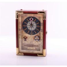Ключница с часами Морская – люкс