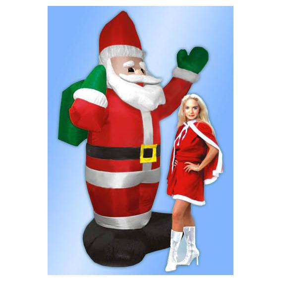 Дед Мороз с мешком (с подсветкой)