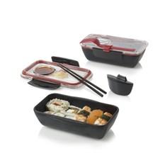 Ланч-бокс Bento box, черный