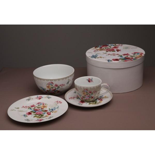 Набор посуды «Цветы»