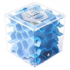 Синяя копилка-головоломка