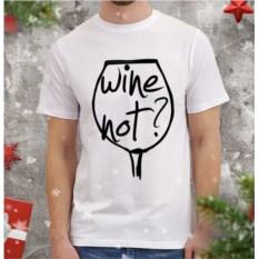Мужская футболка Wine not