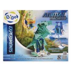 Конструктор Gigo «Управляемые животные» 89 деталей
