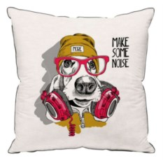 Подушка Make Some Noise Dog