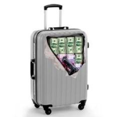 Наклейка на чемодан Деньги