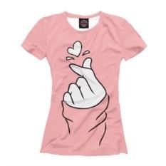 Женская футболка Магия любви