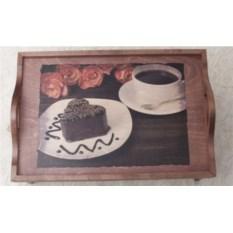 Столик-поднос Шоколадное пирожное