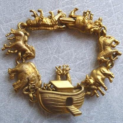 Винтажный браслет «Ноев ковчег»
