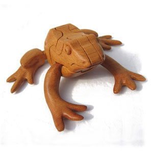 3D Пазл Лягушка