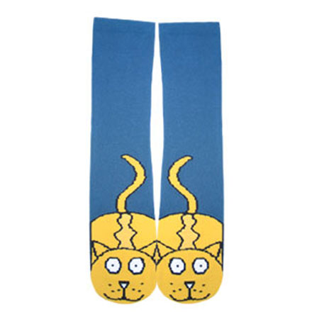 Носки «Желтый кот»