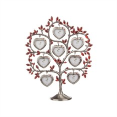 Фоторамка Дерево с красными сердцами