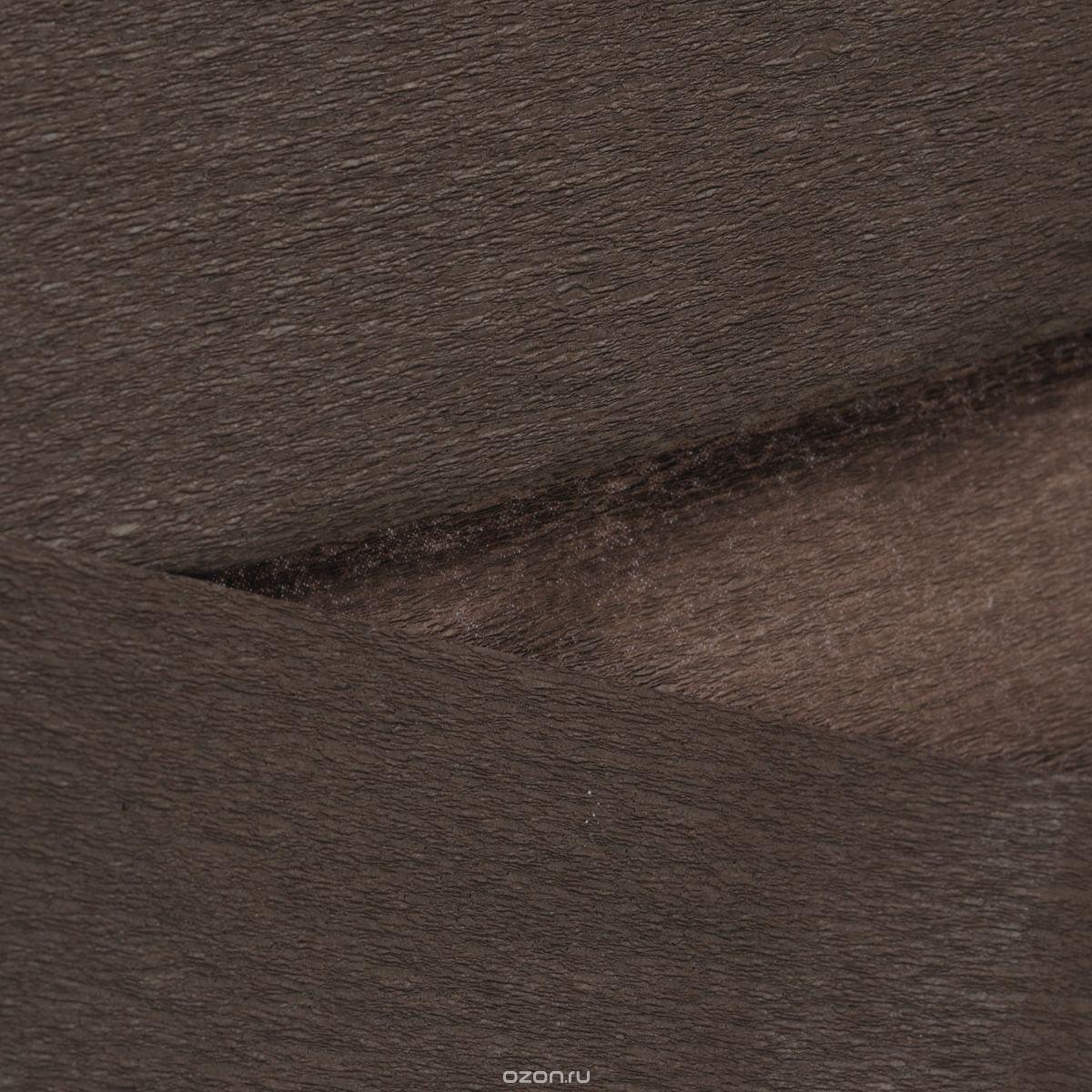 Гофрированная бумага Folia, шоколадная (15) (250x50 см)