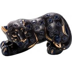 Скульптура Черная пантера
