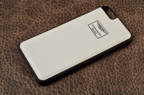 Кожаный чехол для iPhone 6 «Белая ярость» ASTON MARTIN