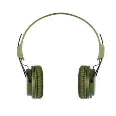 Зеленые беспроводные наушники Rombica MySound BH-02