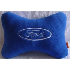 Синяя подушка-подголовник Ford