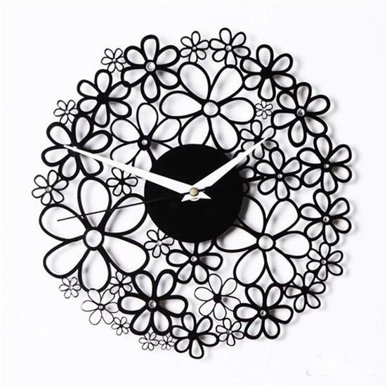 Часы Цветочное время