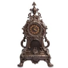 Часы в стиле рококо (шоколадный цвет)